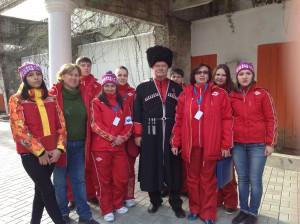 волонтеры информационной палатки сош 49